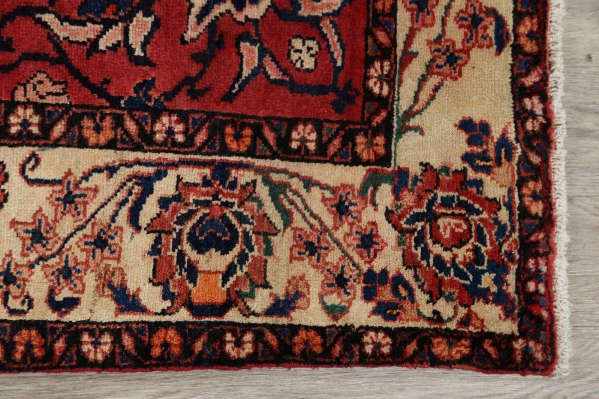 Floral 7x10 Lilian Hamadan Persian Area Rug