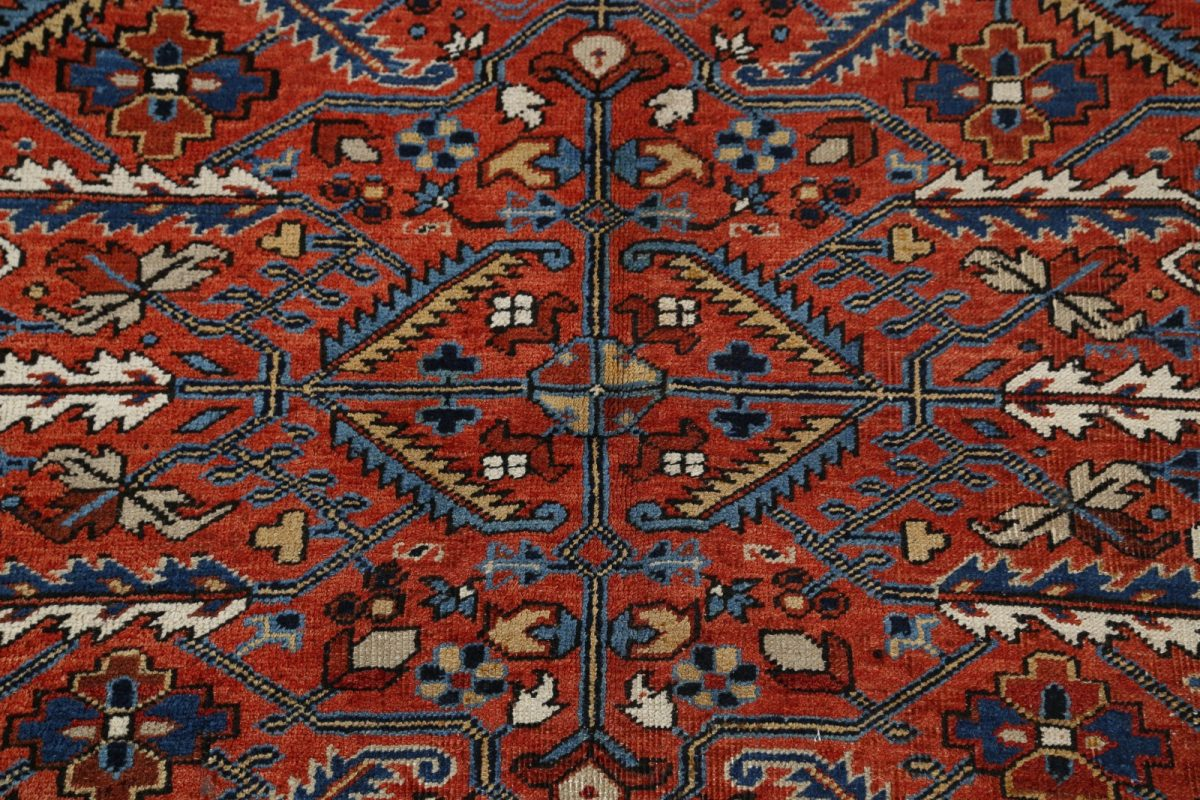 Geometric 6x9 Heriz Persian Area Rug