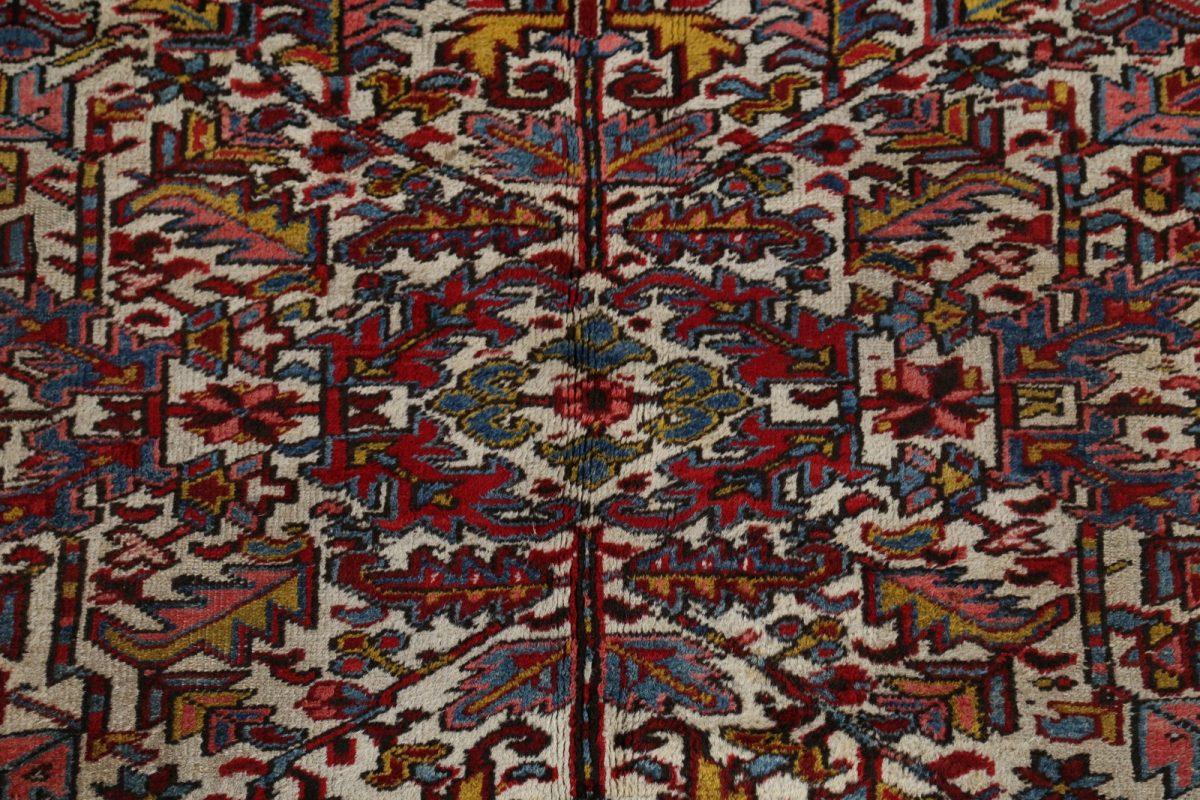 Geometric 7x9 Heriz Persian Area Rug