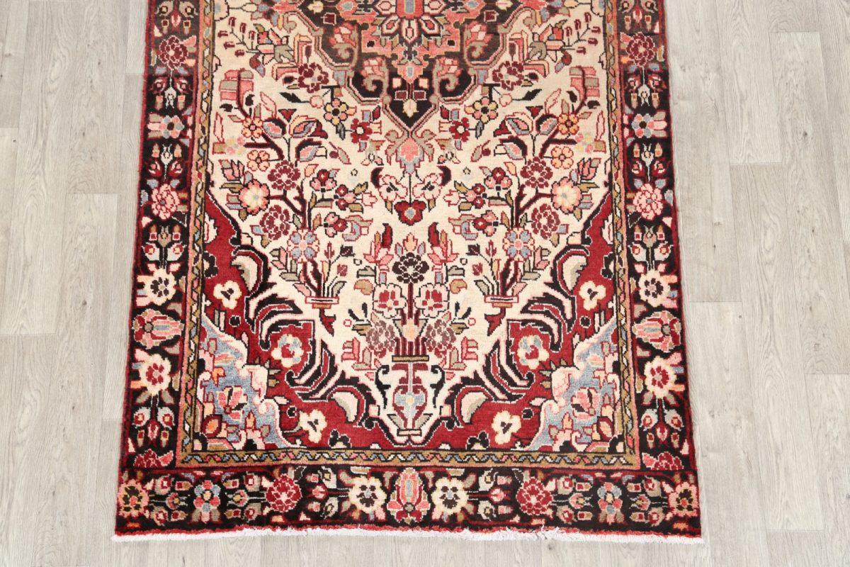 Floral 5x10 Borchelu Hamedan Persian Area Rug