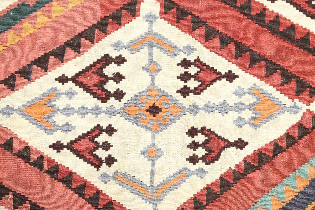Geometric 5x19 Kilim Shiraz Persian Rug Runner