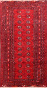 Geometric 3x6 Balouch Persian Rug Runner