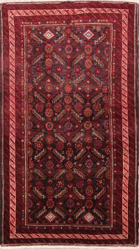 All-Over 4x6 Balouch Persian Area Rug