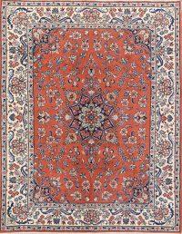 Floral 7x8 Sarouk Persian Area Rug