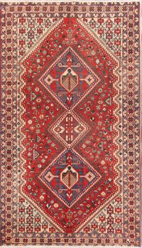 Geometric 5x10 Bakhtiari Persian Area Rug