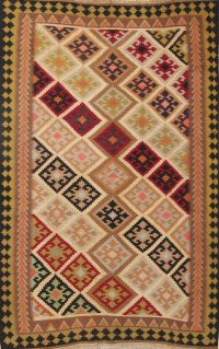 Tribal 4x6 Navajo Kilim Shiraz Persian Area Rug