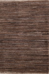 Striped Modern 3x4 Gabbeh Zolanvari Persian Area Rug