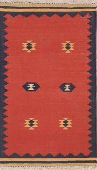 Nomad Tribal 2x4 Kilim Balouch Sumak Persian Area Rug