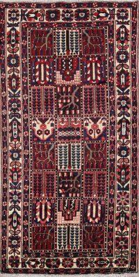 Garden Design 5x10 Bakhtiari Persian Rug Runner