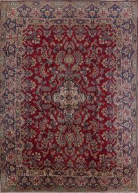 Floral 10x15 Yazd Persian Area Rug