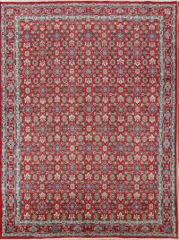 All-Over Floral 9x12 Ardebil Tabriz Persian Area Rug