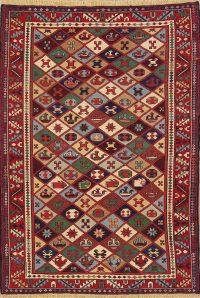 Kilim Shiraz Persian Area Rug 5x7