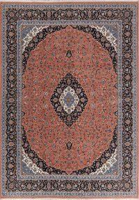 Soft Plush Floral 8x12 Kashan Persian Area Rug