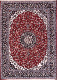 Soft Plush Floral 8x11 Kashan Persian Area Rug