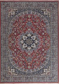 Soft Plush Floral 8x12 Kashan Persian Area Rug