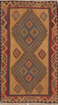 Geometric 4x7 Kilim Shiraz Persian Area Rug