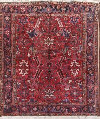 Geometric 6x7 Heriz Persian Area Rug