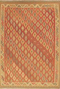 Geometric 6x9 Kilim Kashkoli Shiraz Persian Area Rug