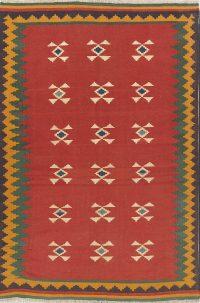 Geometric 6x10 Kilim Shiraz Persian Area Rug