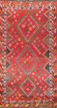 Tribal 4x7 Lori Shiraz Persian Area Rug