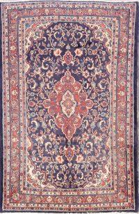 Floral 4x7 Hamedan Persian Area Rug