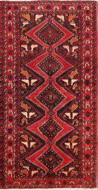 Animals Tribal 3x6  Balouch Persian Rug Runner