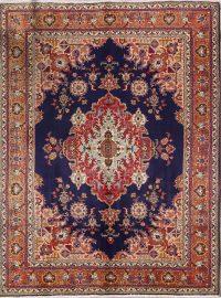 Geometric 10x12 Tabriz Persian Area Rug
