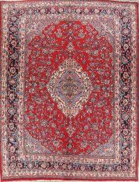 Floral 11x13 Hamedan Persian Area Rug