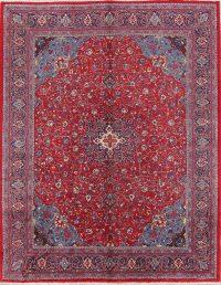 Floral Medallion 10x13 Mahal Sarouk Persian Area Rug