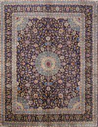 Medallion Floral 10x13 Kashmar Persian Area Rug