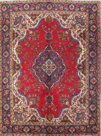 Geometric 10x13 Tabriz Persian Area Rug