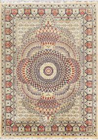 Geometric 8x11 Isfahan Gonbad Persian Area Rug