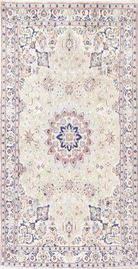 Floral Sage Green 4x7 Nain Persian Area Rug