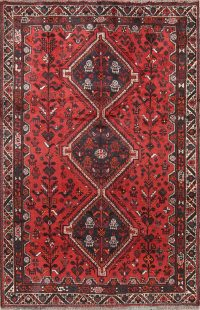 Tribal 6x9 Shiraz Persian Area Rug