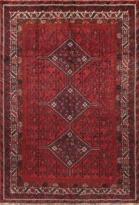 Geometric Tribal 7x10 Shiraz Persian Area Rug