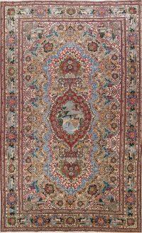 Pictorial 11x18 Tabriz Persian Area Rug