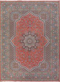 Soft Plush Geometric 10x13 Kashan Persian Area Rug
