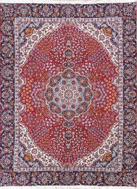 Soft Plush Floral 9x12 Hamedan Persian Area Rug