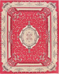Soft Plush Floral 10x13 Tabriz Persian Area Rug