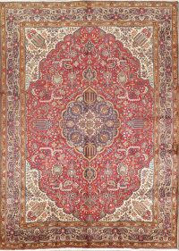 Geometric 10x13 Tabriz Persian Area Rug
