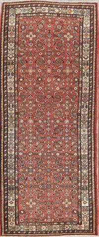 Hamedan Persian Runner Rug 4x10
