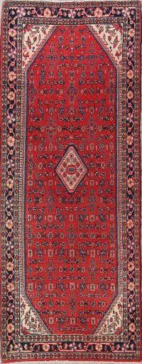 Hamedan Persian Runner Rug 4x9