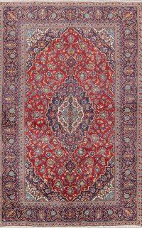 Kashan Persian Area Rug 7x10