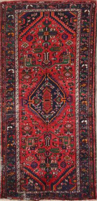 Geometric Heriz Persian Area Rug 6x9