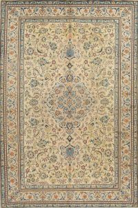 Floral Isfahan Persian Area Rug 7x10