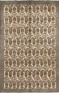 All-Over Paisley Bakhtiari Persian Area Rug 7x11