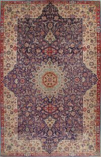 Floral Najafabad Persian Area Rug 11x18