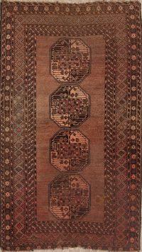 Balouch Oriental Area Rug 4x7