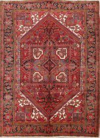 Geometric Tribal 7x9 Heriz Persian Area Rug