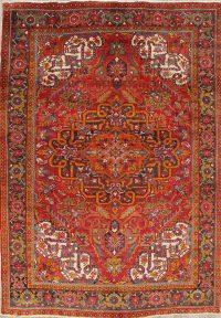 Geometric Heriz Persian Area Rug 9x12